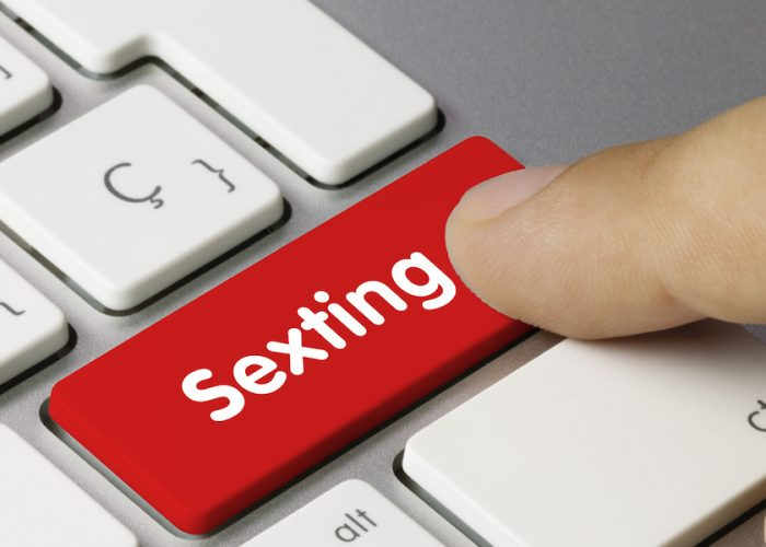 Online dating and sexting