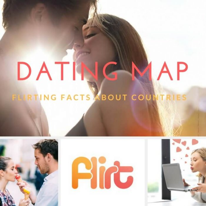 flirt dating map blog