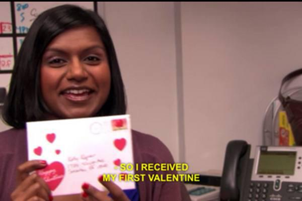the office valentines cards