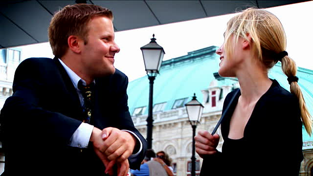 flirting on the street