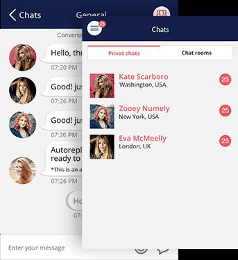 women dating app
