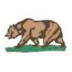 view flag California